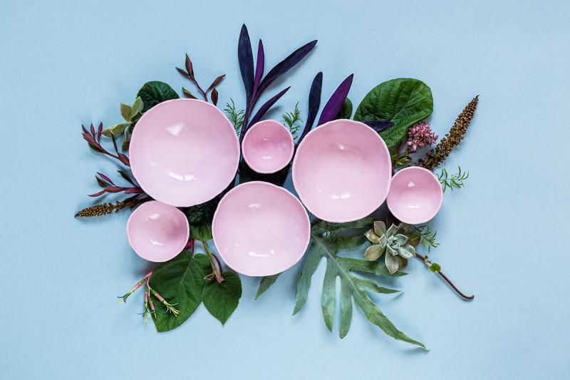 Lina Skukauskenin keramik natürmortları